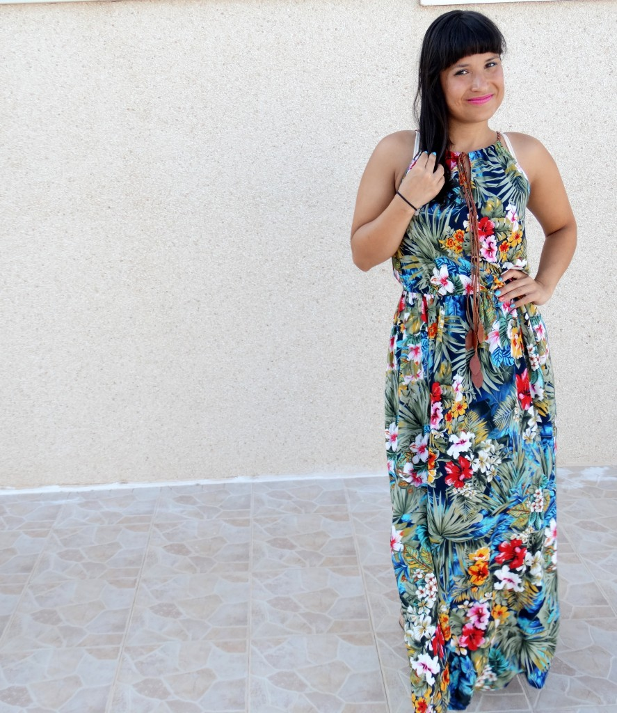 OOTD-Maxi-jurk-Bloemen-Spanje