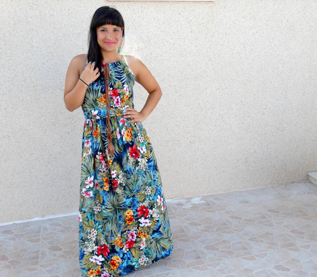 OOTD-maxidress-bloemen-Spanje