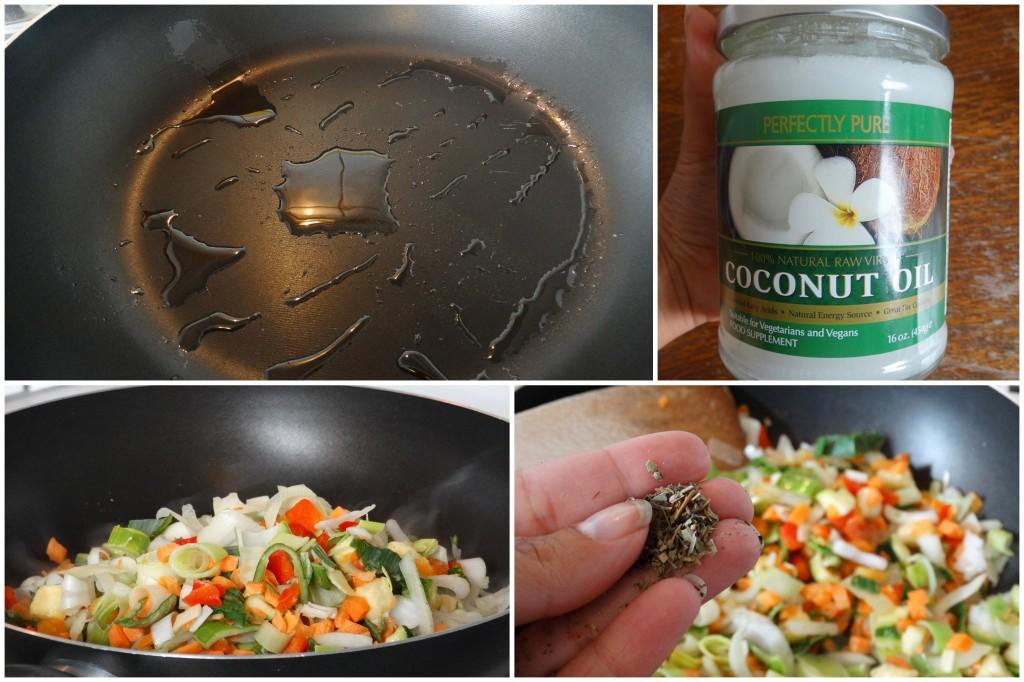 Recept- pasta- kip- kokos