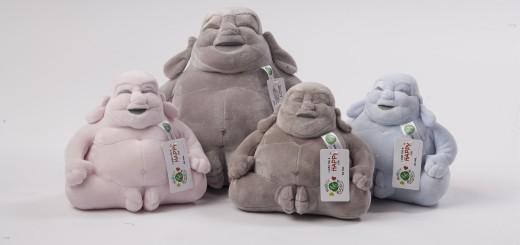 Huggy Buddha Familie
