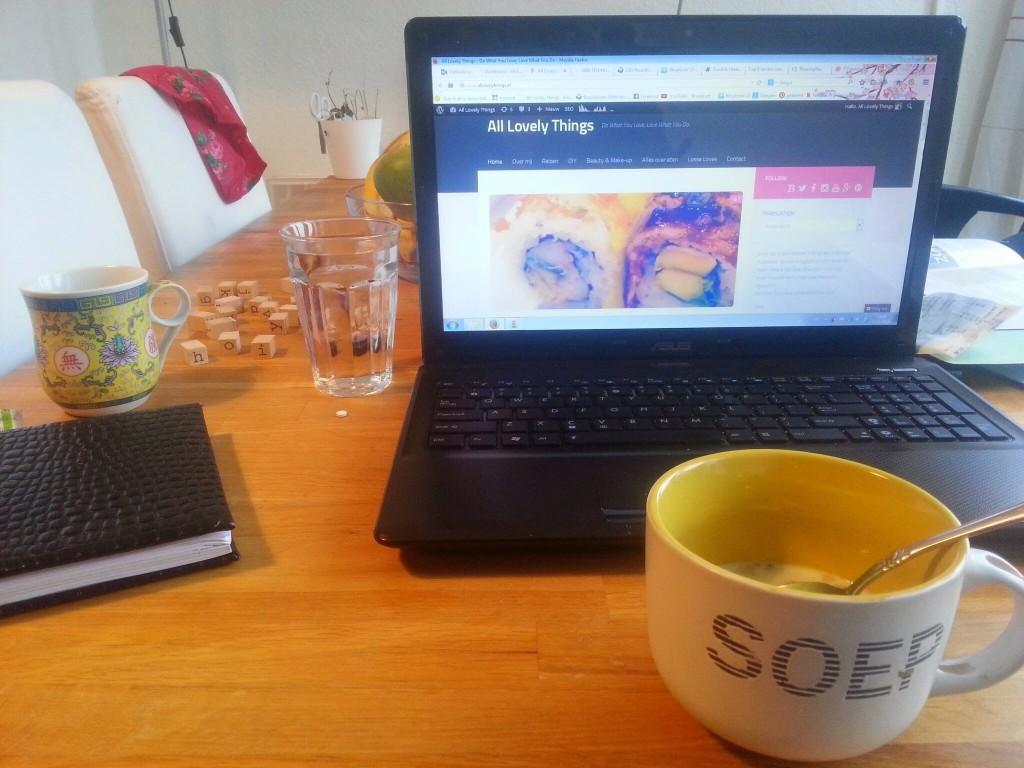 Bloggen-ontbijt diary