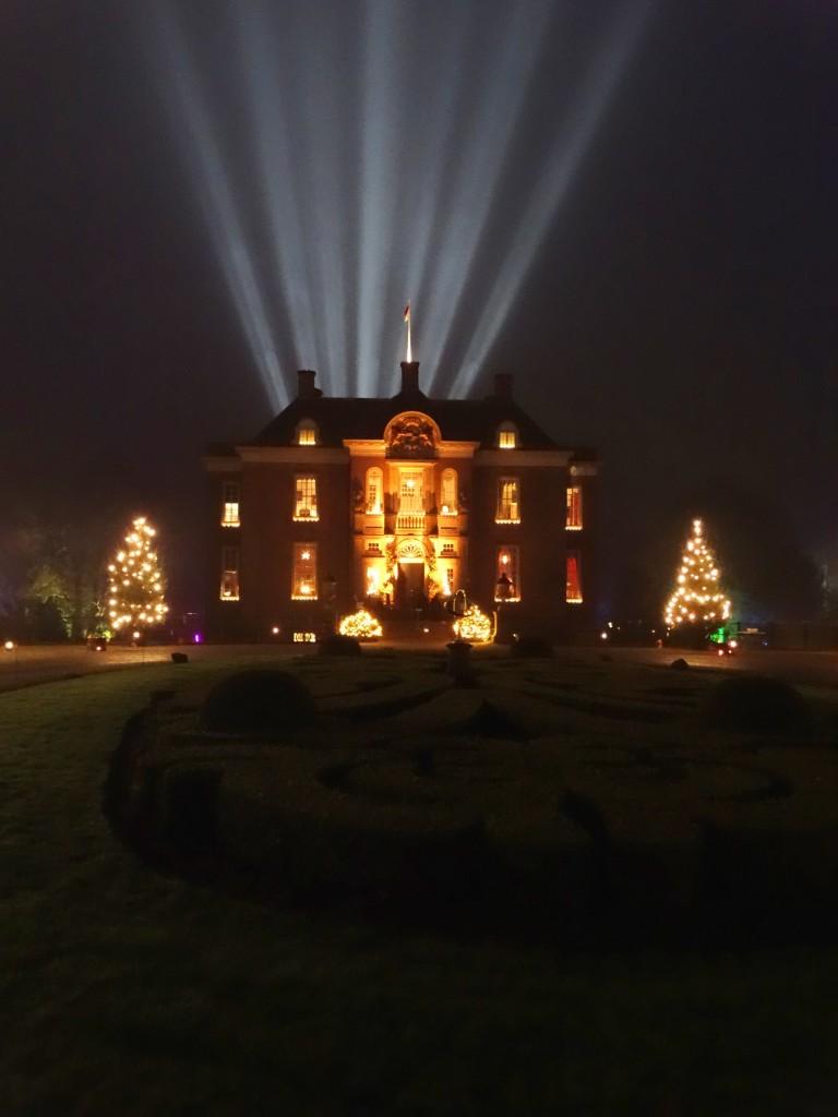 Middachten lichtshow winter fair