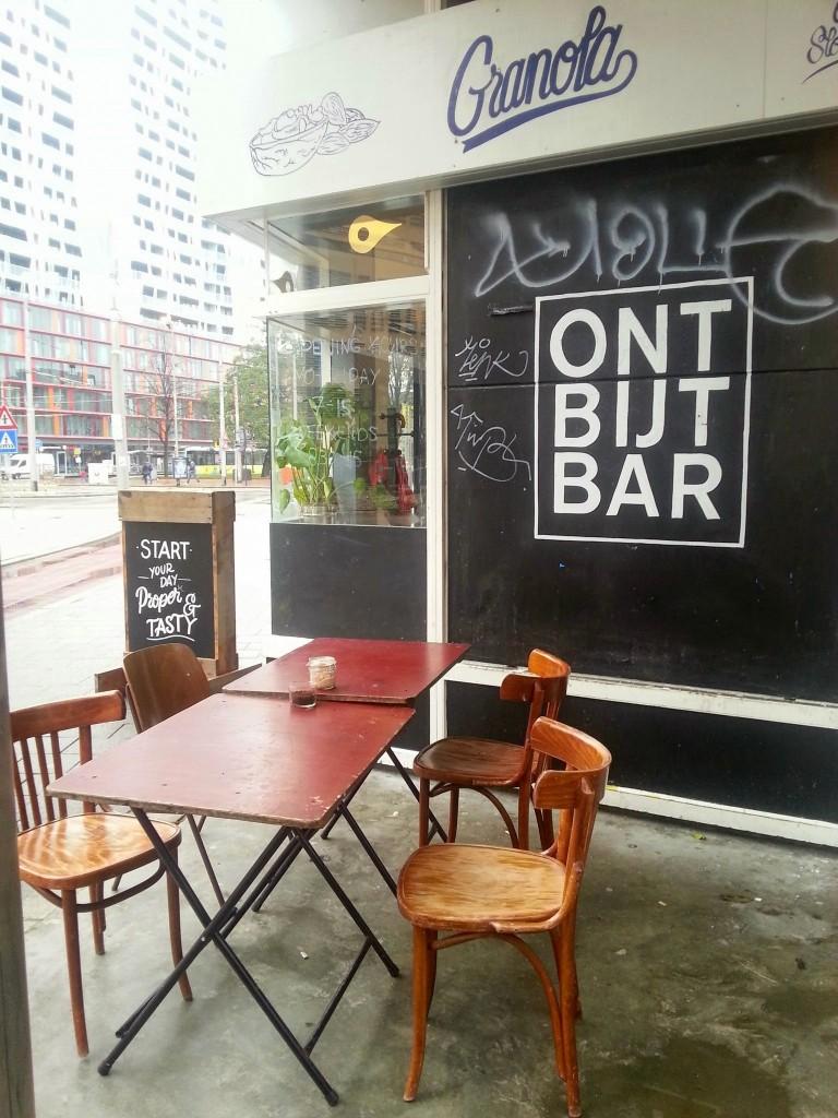 Ontbijtbar Rotterdam zijkant