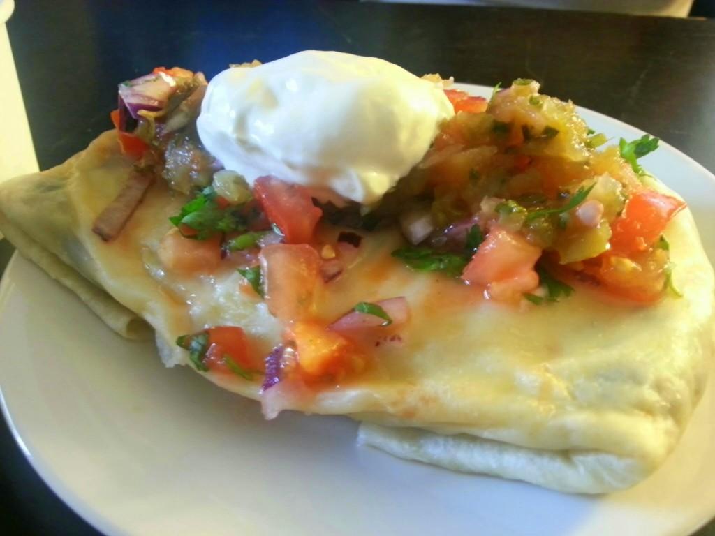 Ontbijtbar breakfast burrito review