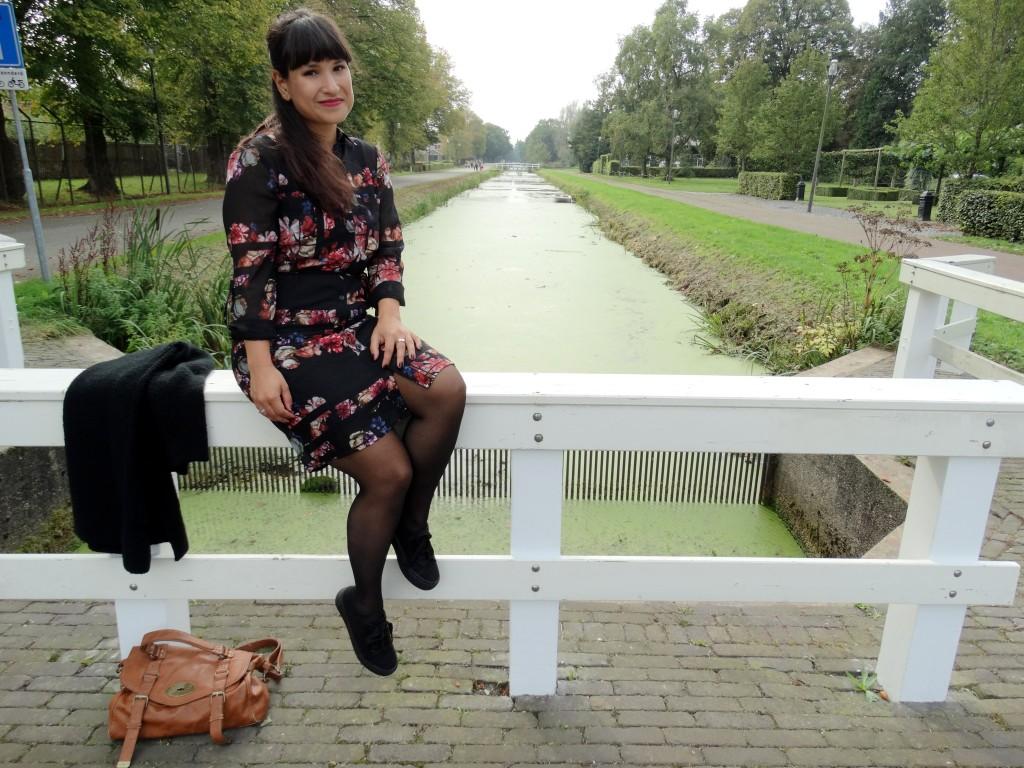 Primark blouse jurk ootd