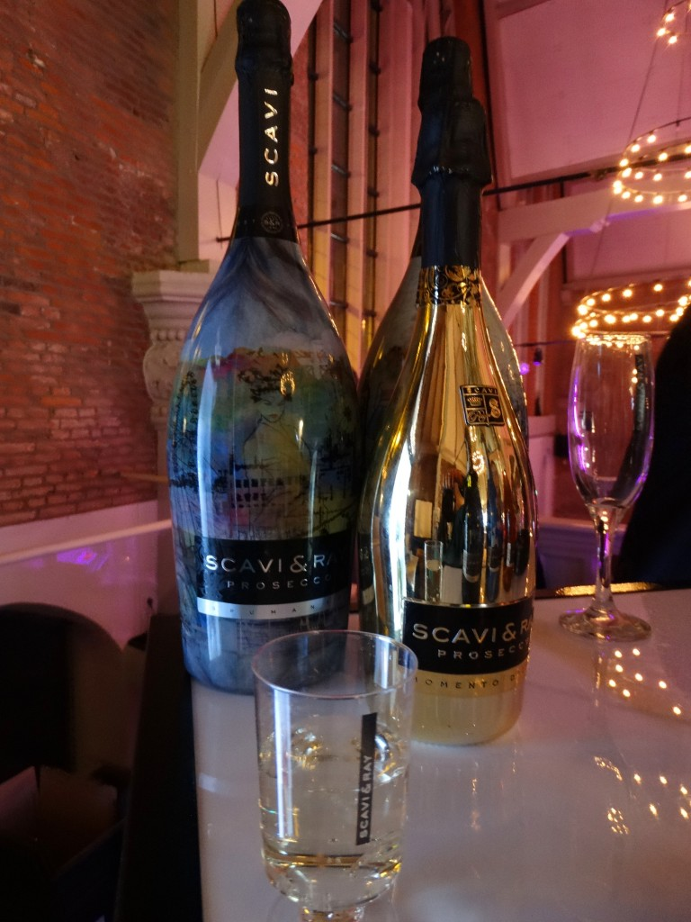 Scavi & Ray Prosecco fashion week londen limited edition