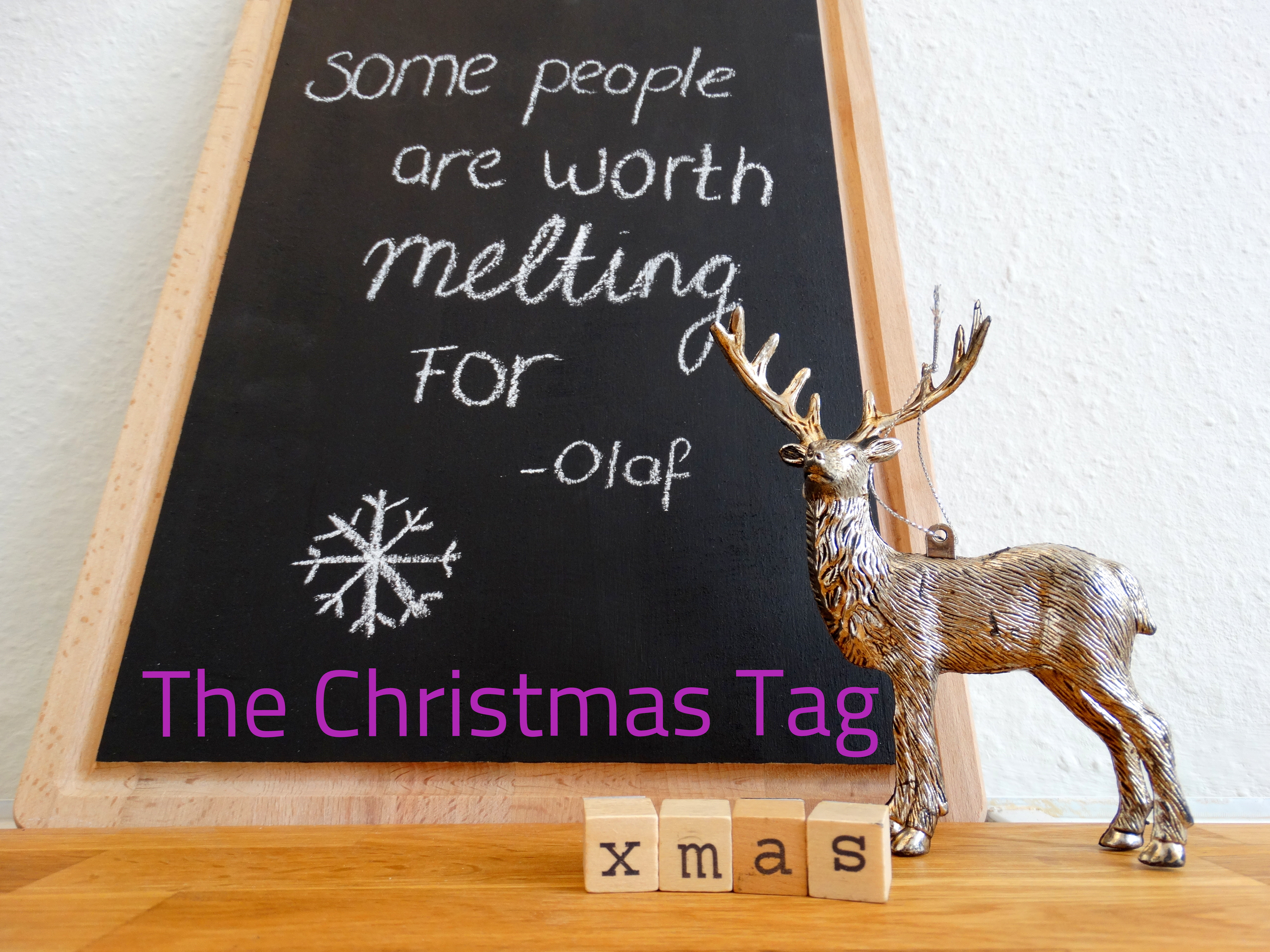 Foute Kersttrui Olaf.The Christmas Tag