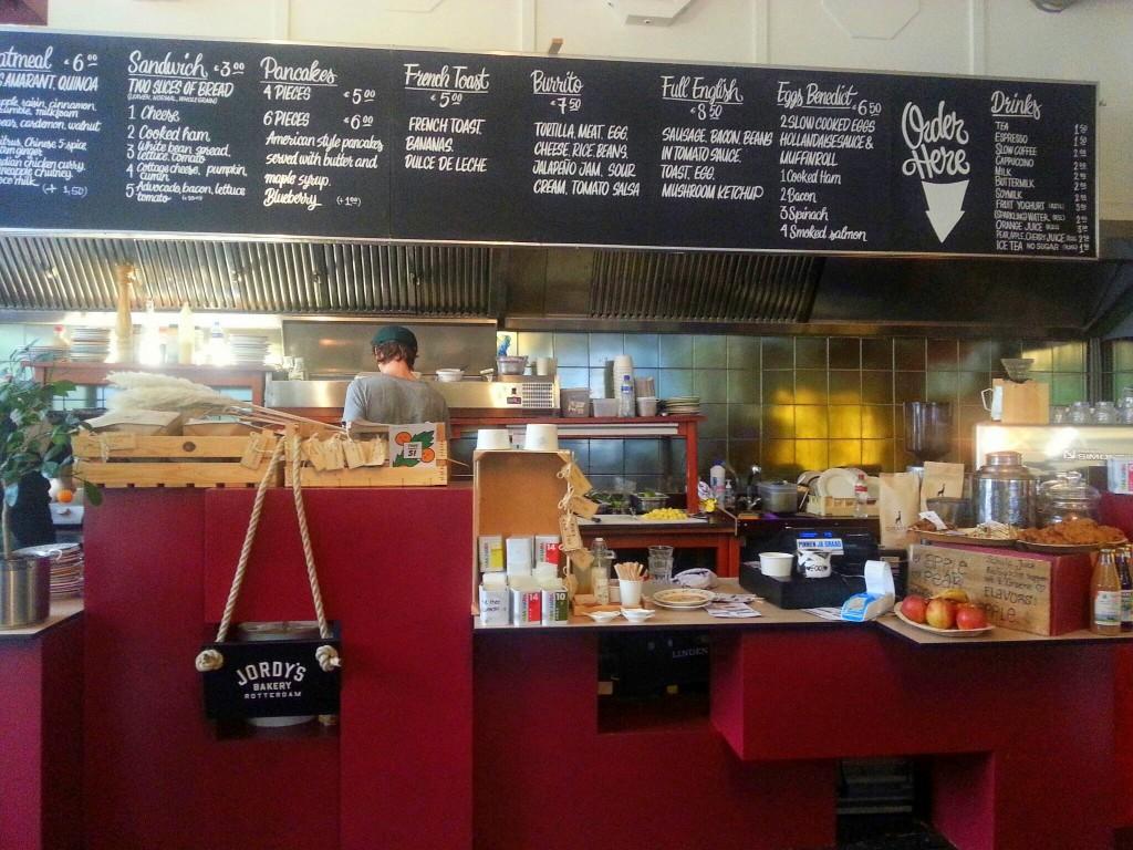 hotspot rotterdam  ontbijtbar lunch