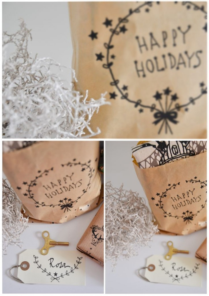 kerst gift wrapping