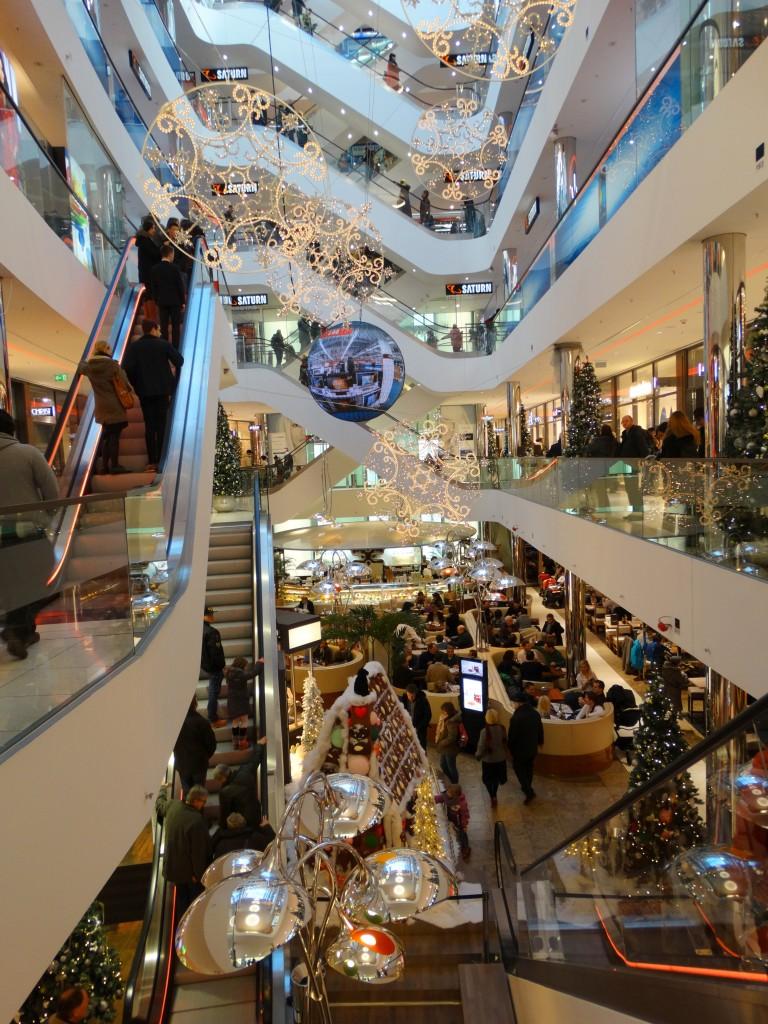 kerstmarkt dusseldorf winkelcentrum