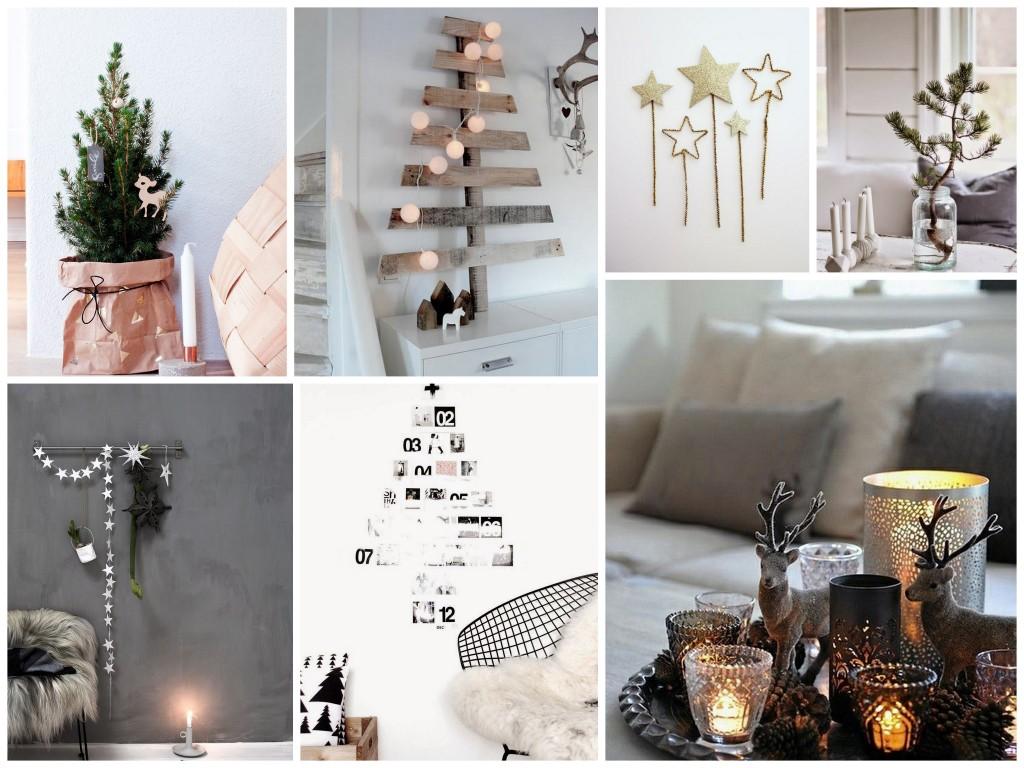 scandinavische kerst home  inspiratie