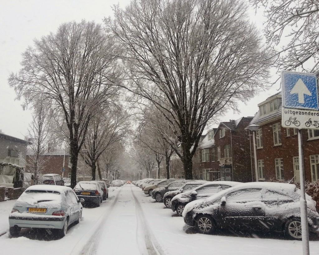 sneeuw in nijmegen