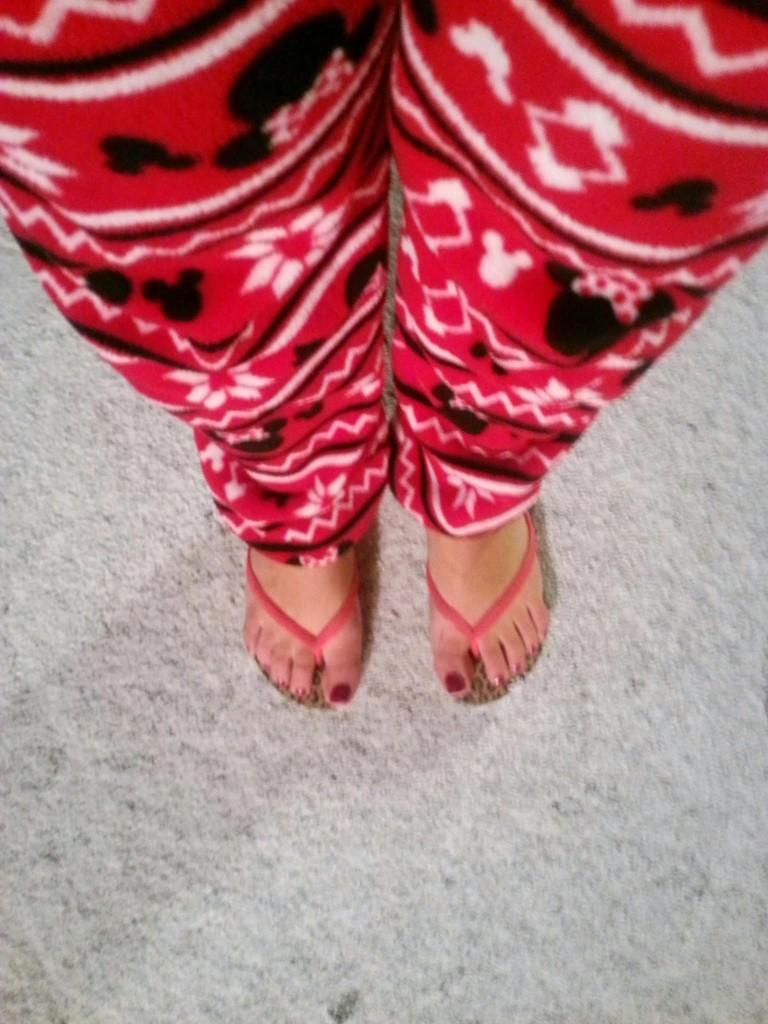 sneeuw slippers Primark pyjama