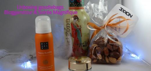 unboxing goodiebag bloggerstour soiree magnifique