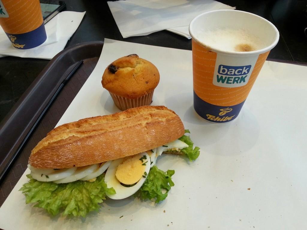 Backwerk broodje lunch diaryblog ALl Lovely Things