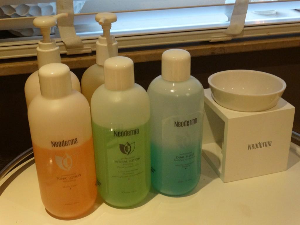 Bio peeling Neoderma producten