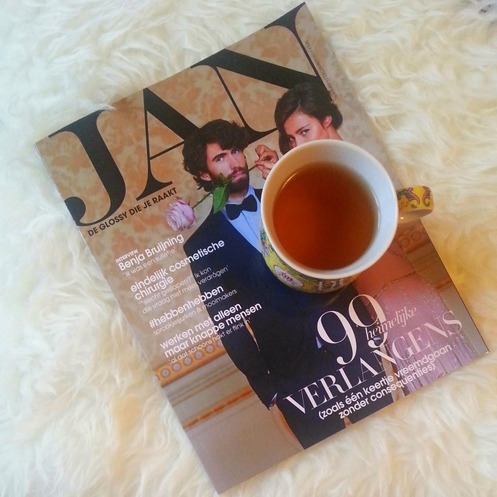 Jan magazine Thee break All Lovely Things Diaryblog