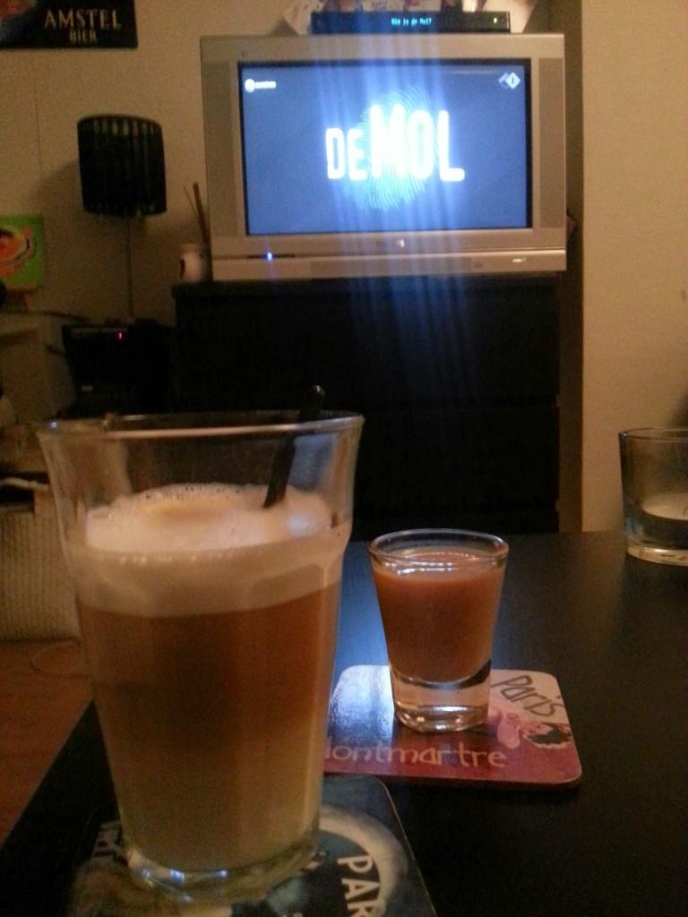 Koffie baileys wie is de mol diaryblog