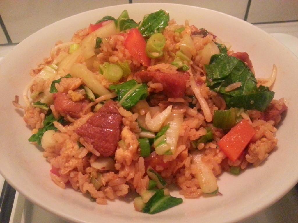 Nasi goreng homemade all lovely things