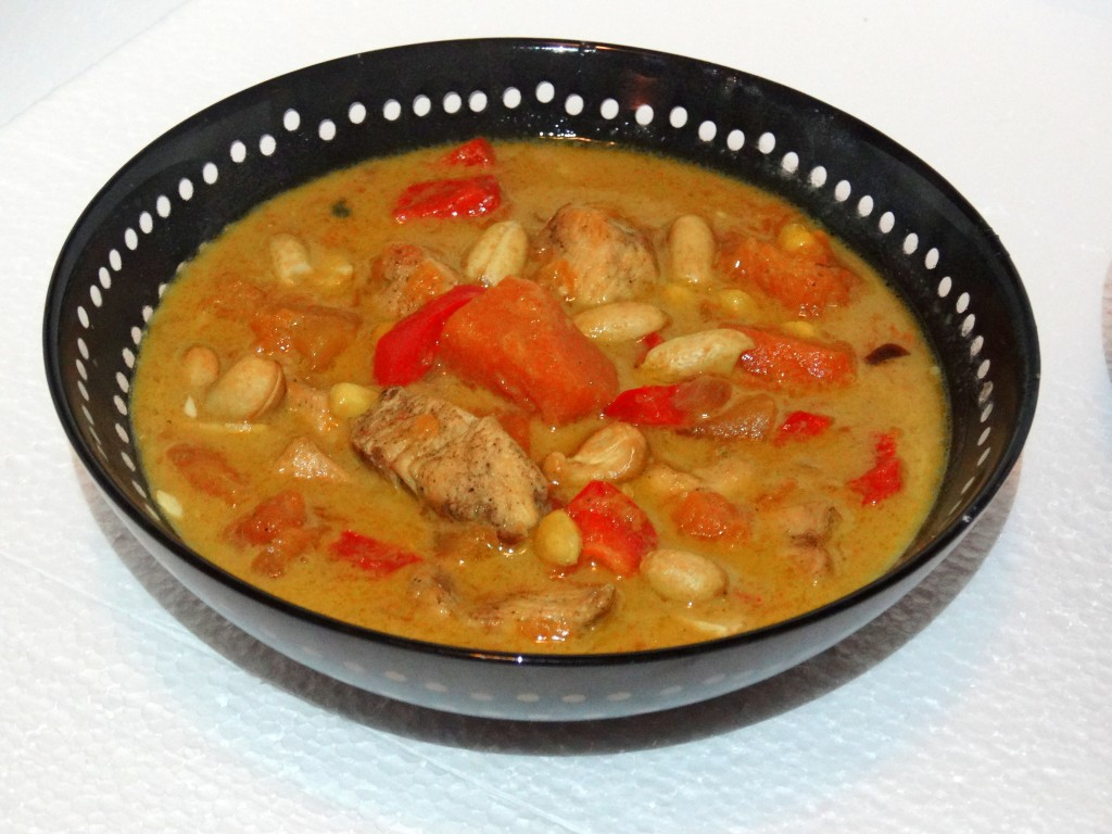 Pompoen curry Recept