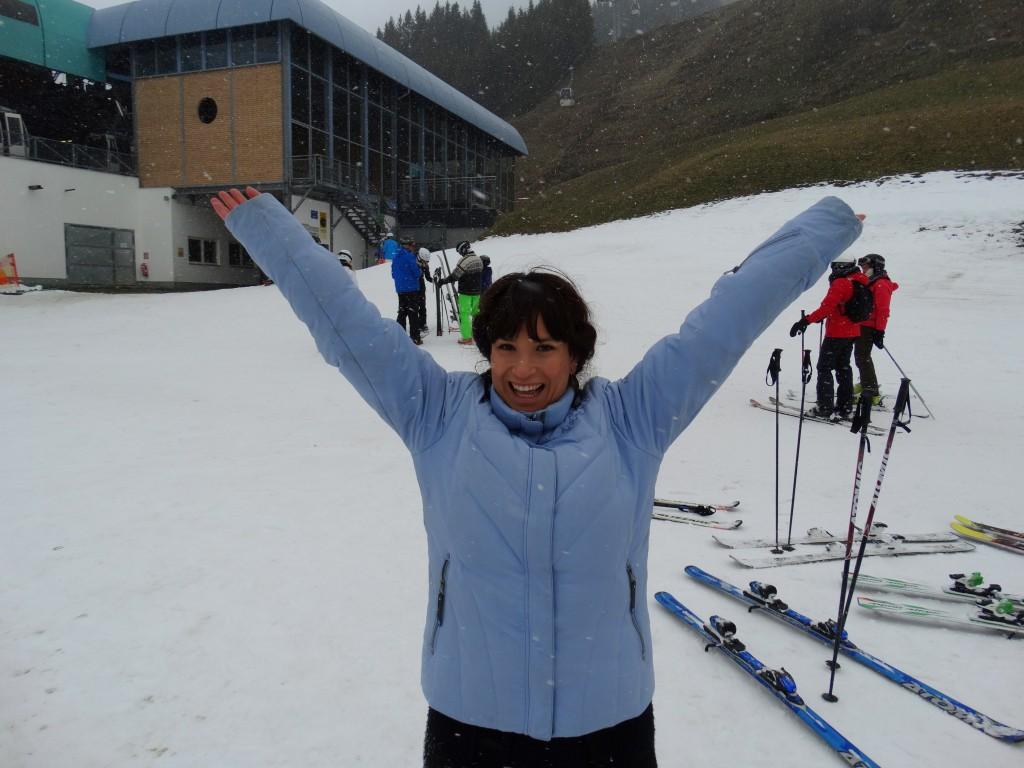 Sneeuw Saalbach Hinterglemm Skivakantie