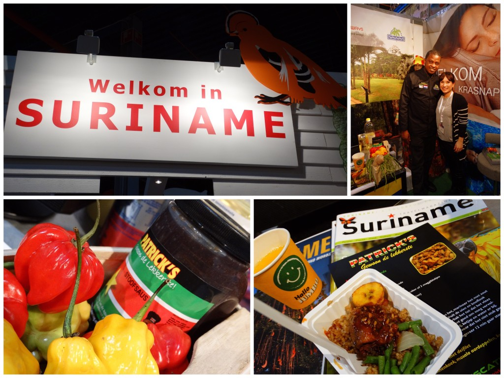 Vakantiebeurs Suriname Patricks eten