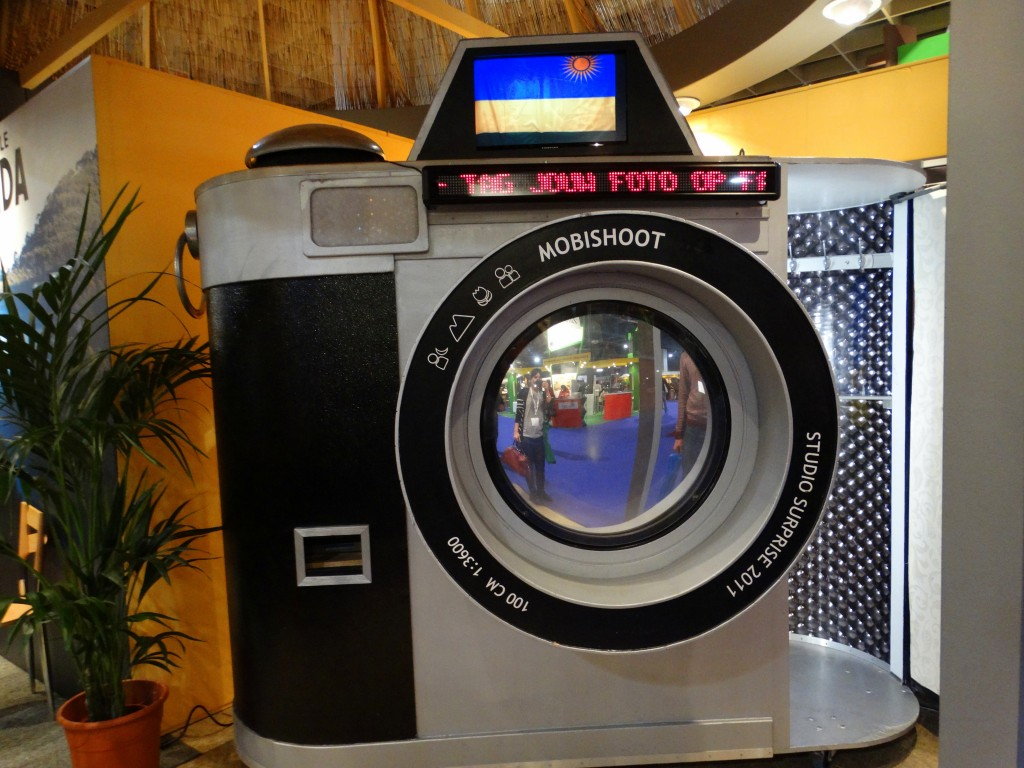 Vakantiebeurs photobooth camera