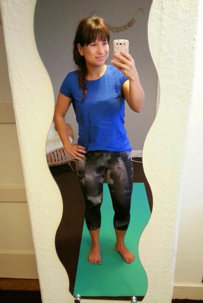 Yoga met Adriene yoga outfit
