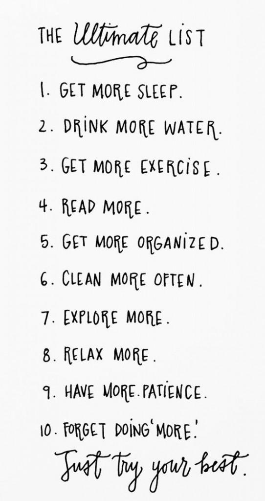 Goede-doelen lijst