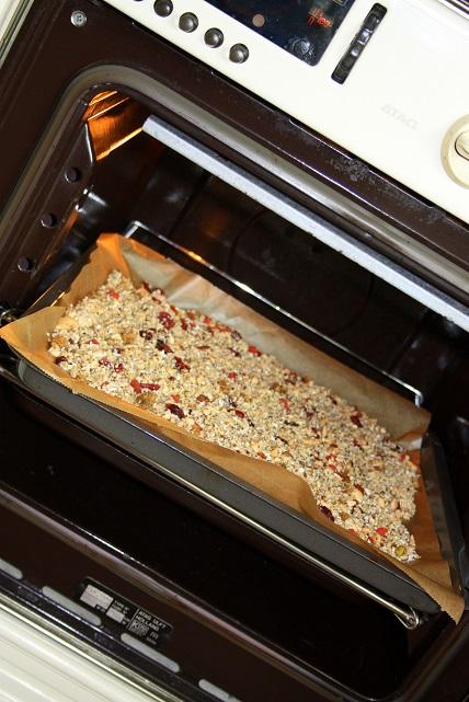 Granola maken oven