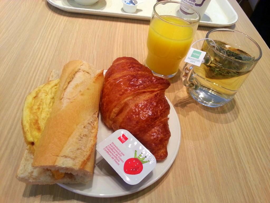 Hema ontbijt