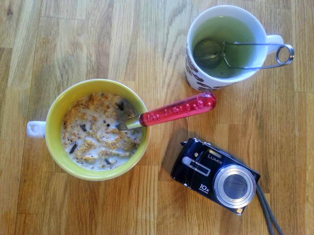 Ontbijt bloggen panasonic camera