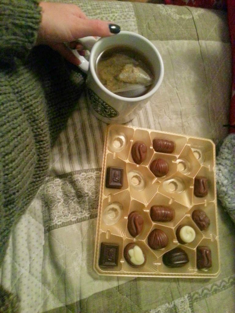 Thee chocolade diaryblog