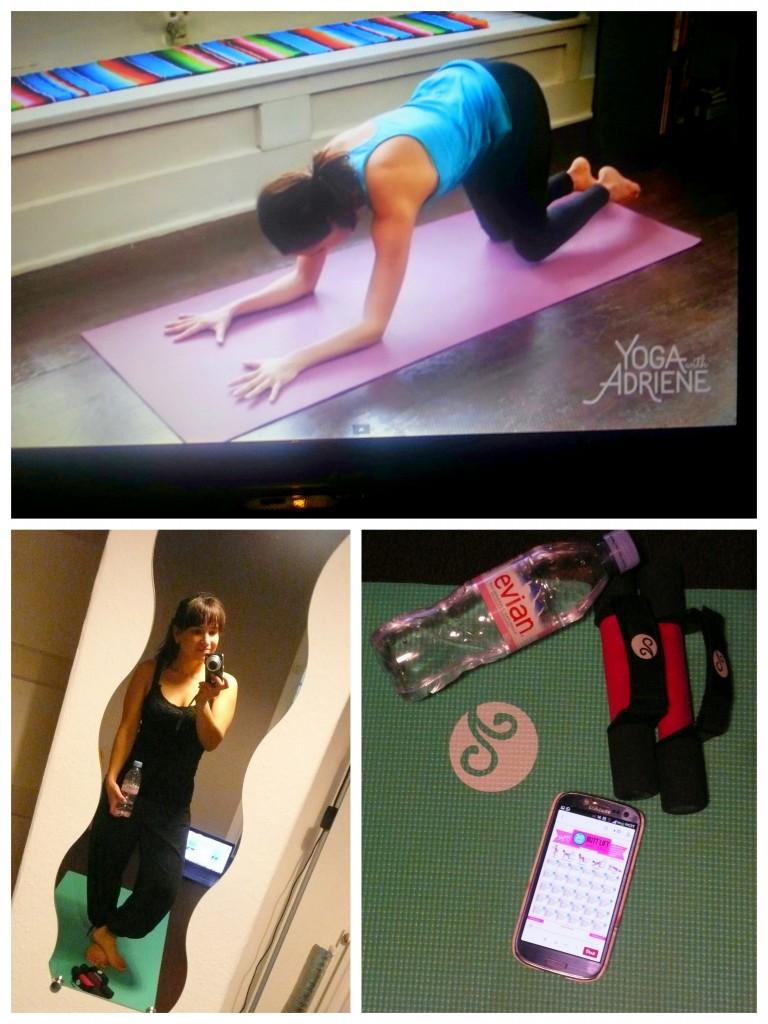Yoga thuis sporten Blogilates