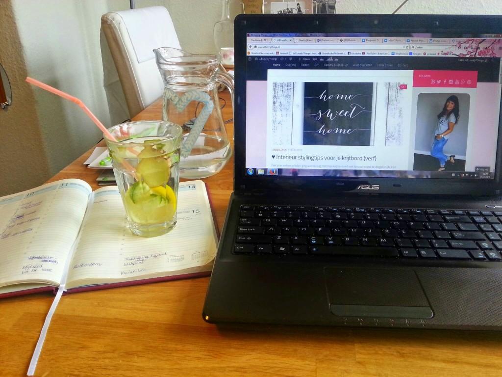 bloggen fruitwater