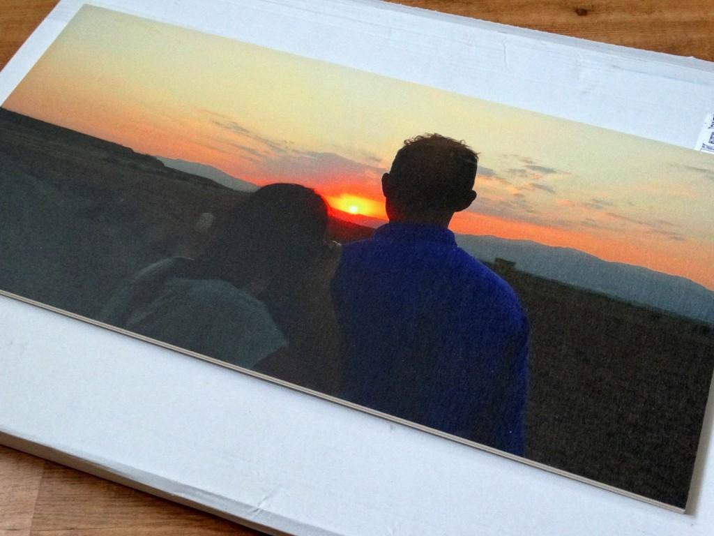 foto op hout webprint review