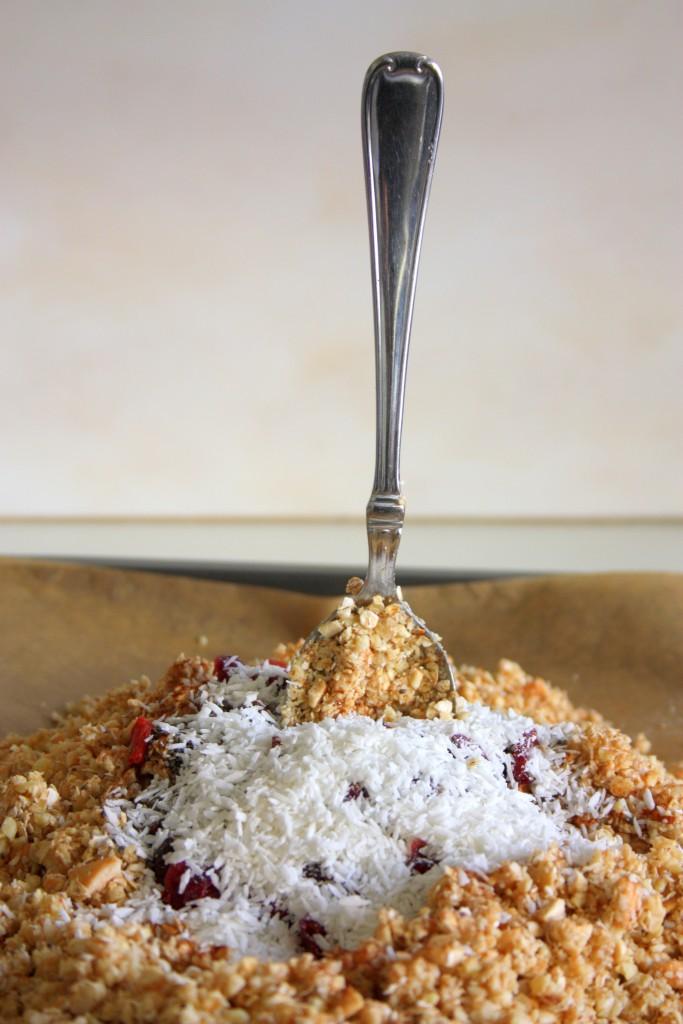 granola maken met superfoods