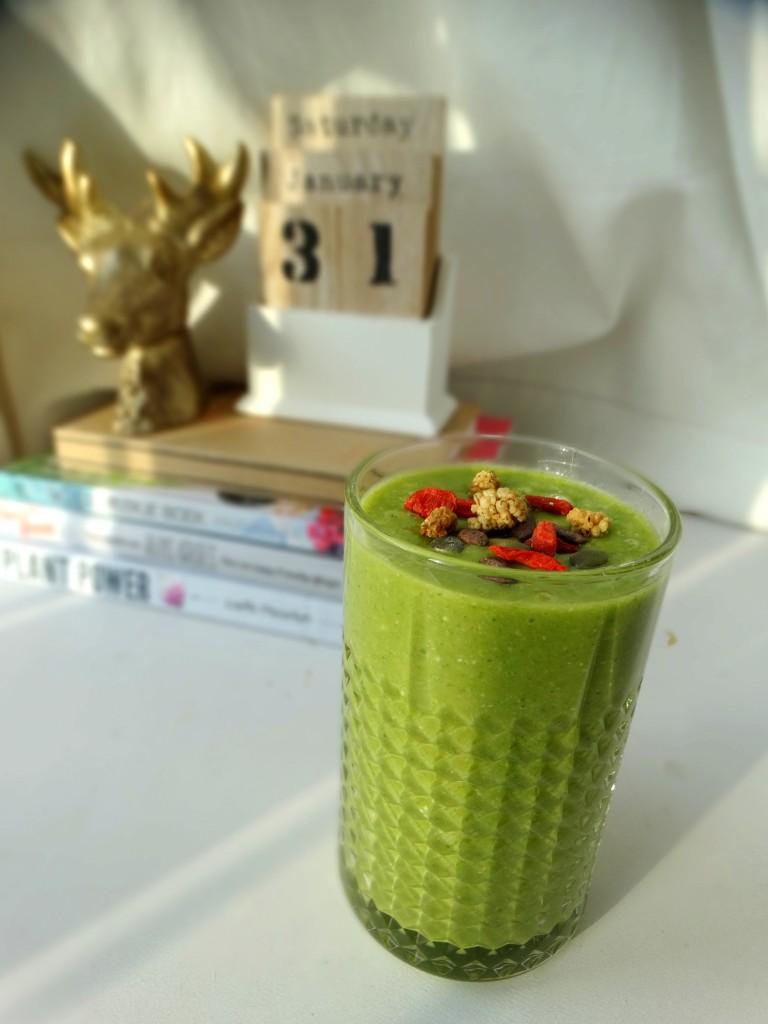 groene smoothie ontbijt