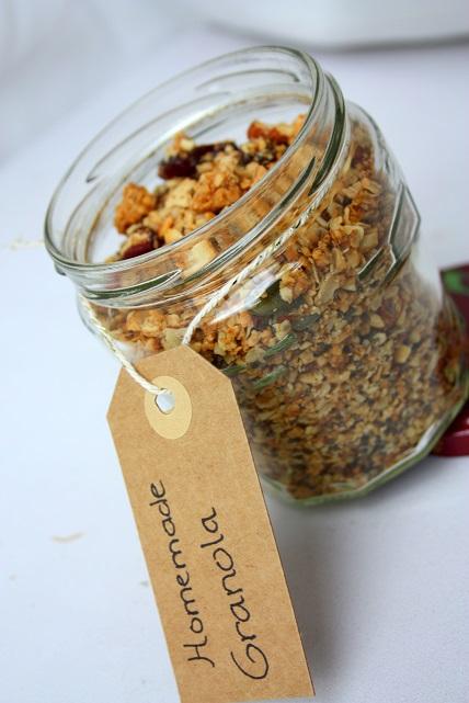 zelf granola maken recept