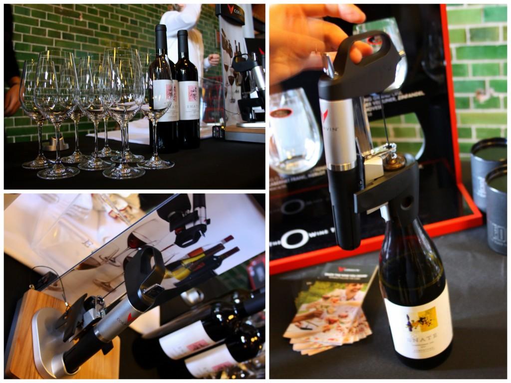Coravin wijn proefparade