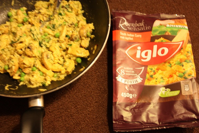 Iglo roerbaksensatie india curry