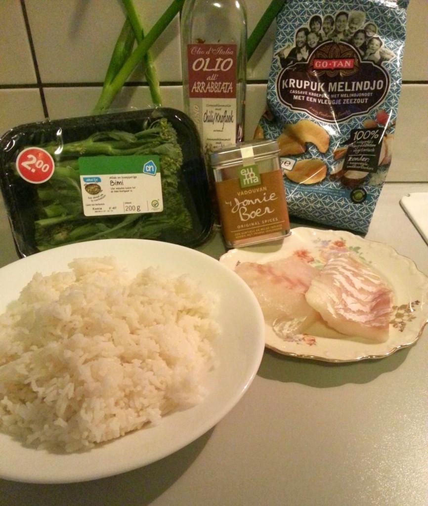 Jonnie Boer kruiden Bimi aziatische gerecht