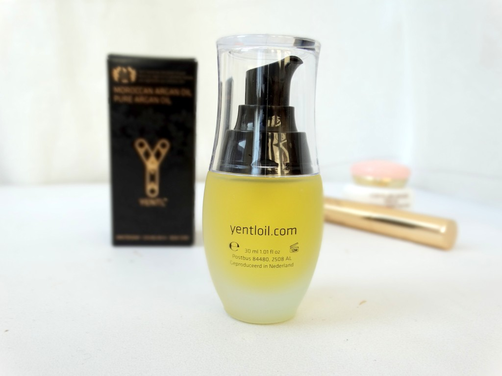 Yentl oil flacon review arganolie