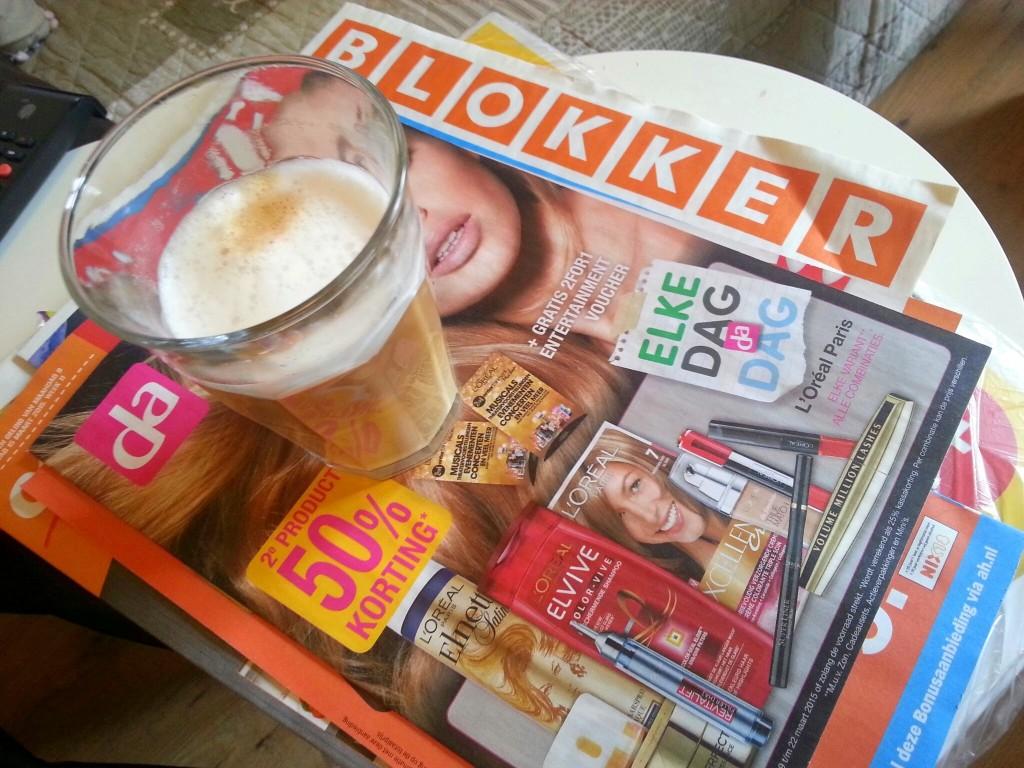 reclame blaadjes koffie diaryblog