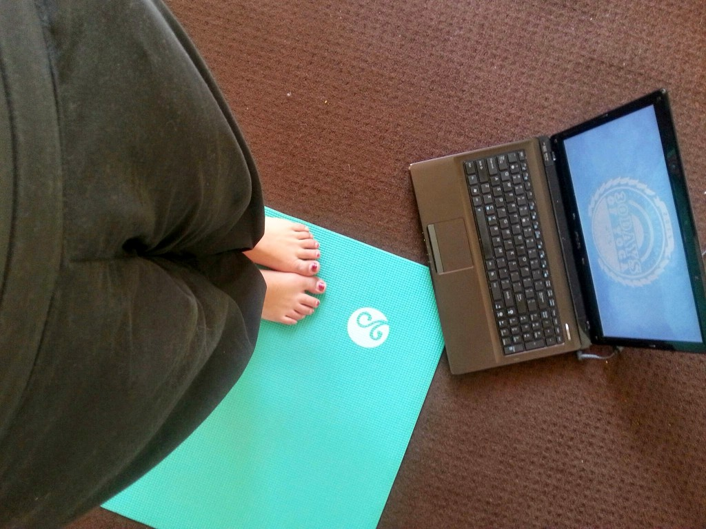 yoga with adriane zon
