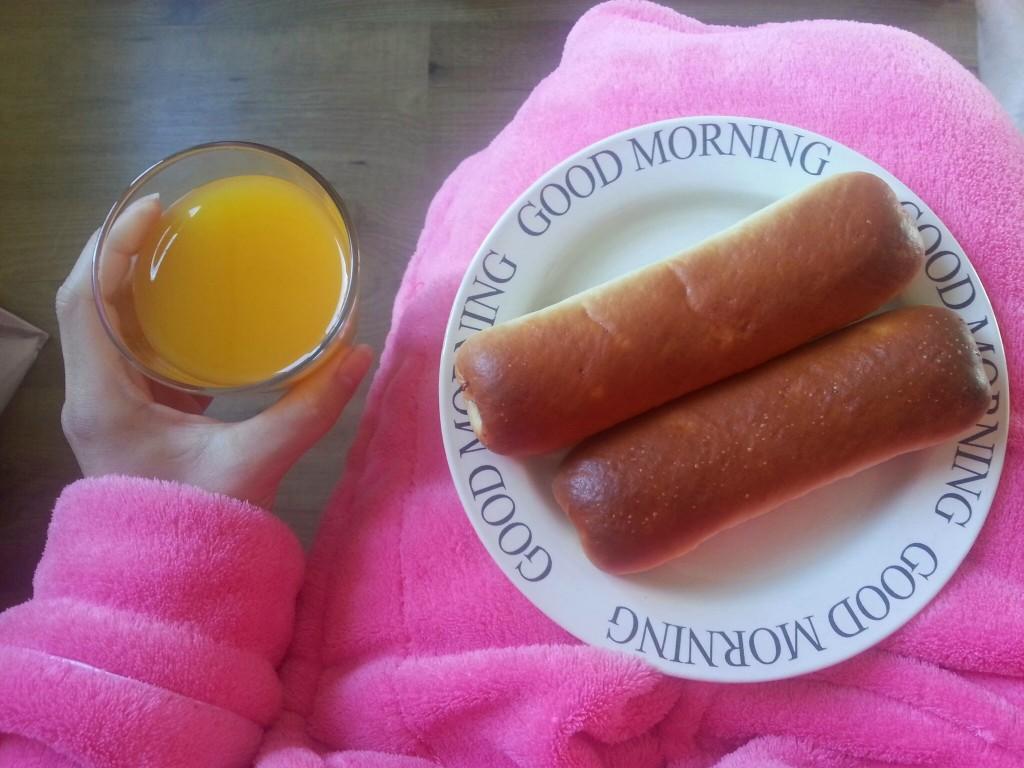 Worstenbrood-sap-ontbijt