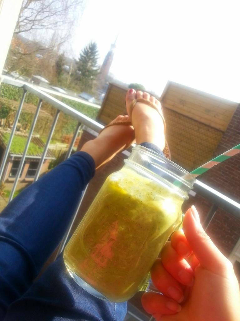 Zonnen-smoothie
