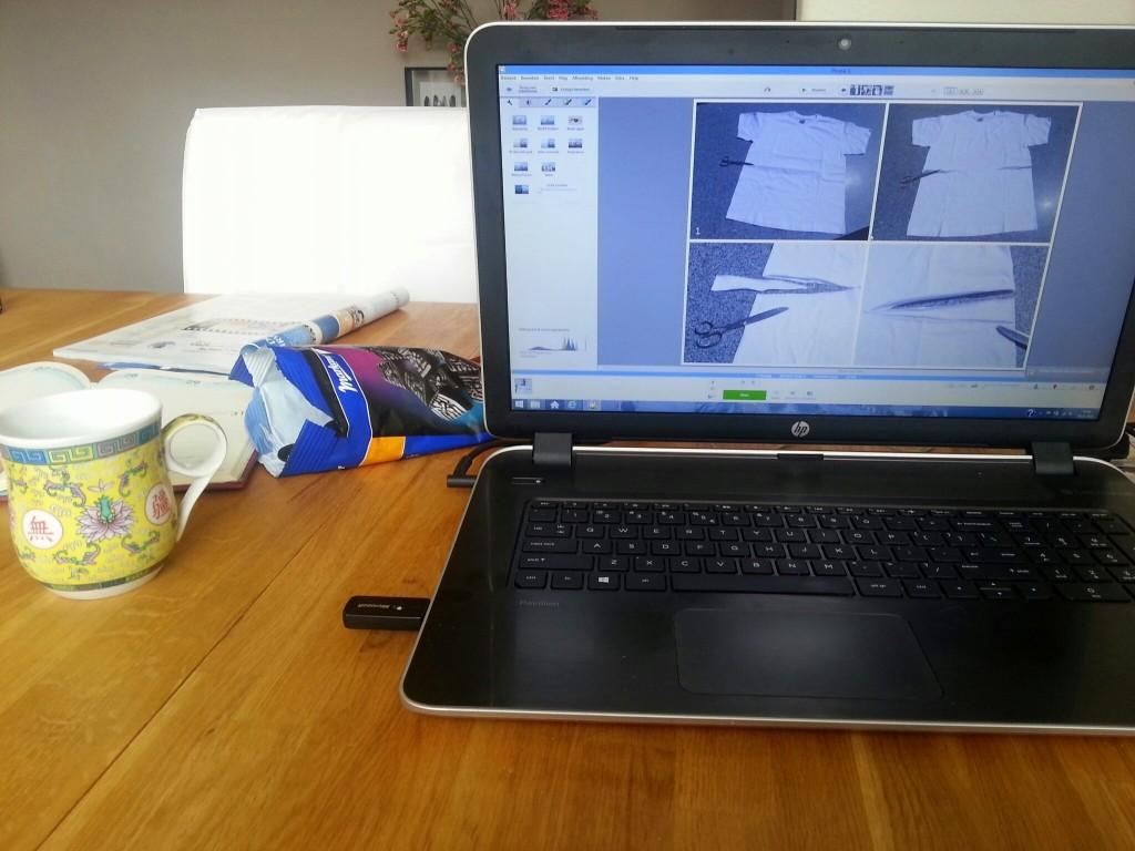 Bloggen met en zak drop= geen goed idee....