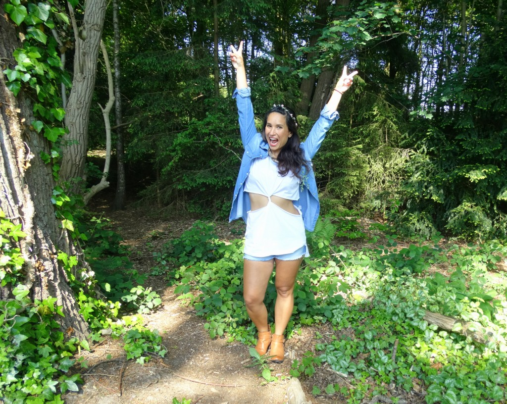 Festival outfit diy top
