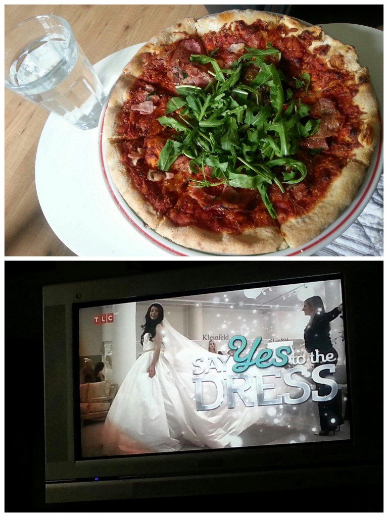 pizza say yes to the dress